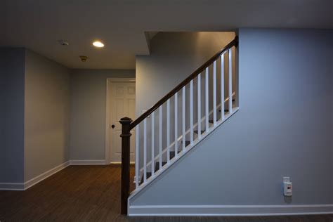 half wall staircase stair railings and half walls ideas basement masters