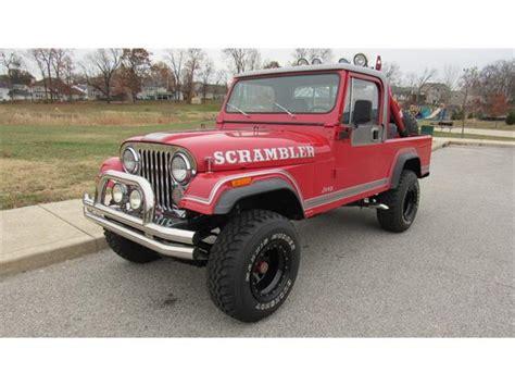 vintage jeep scrambler jeep cj8 scrambler for sale on classiccars com