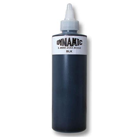 dynamic tattoo ink dynamic black 8oz