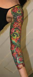 colorful sleeves tattoos for arm sleeve designs for