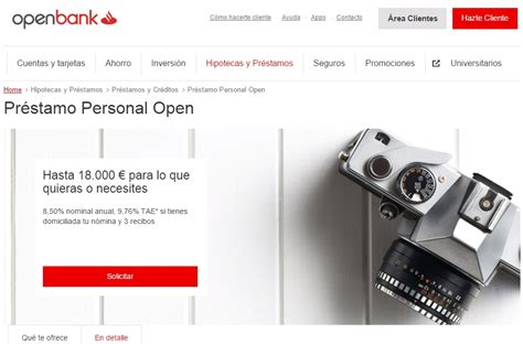 banco santander openbank pr 233 stamo personal open de openbank