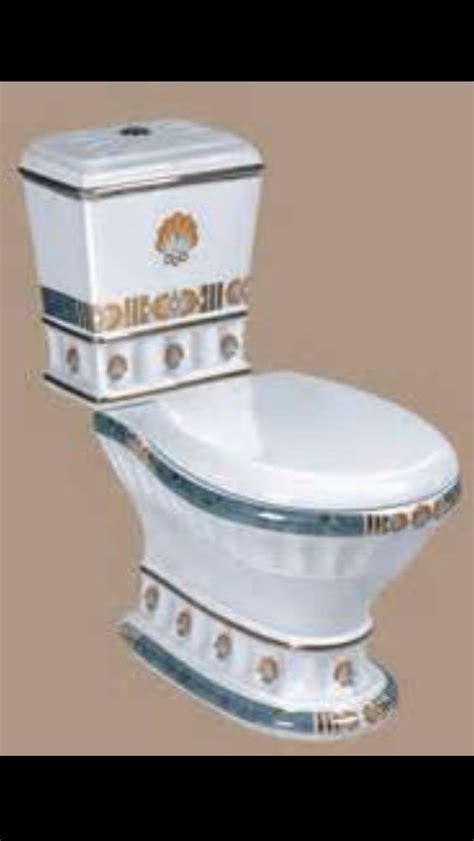 porcelain gold painted toilet   home toilet