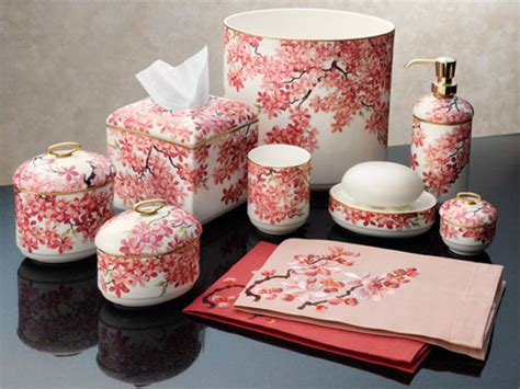 coral colored bathroom accessories pictures to pin on