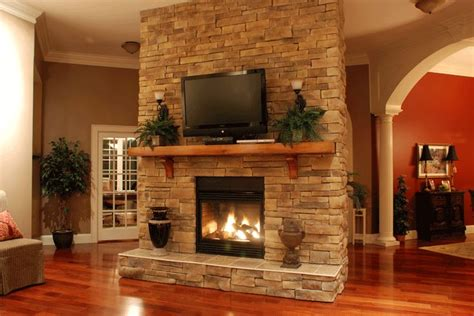 Stacked Veneer Fireplace by Stack Fireplace Pictures Captured
