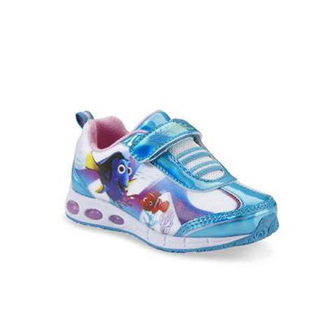 toddler light up shoes disney finding dory toddler s white blue light up