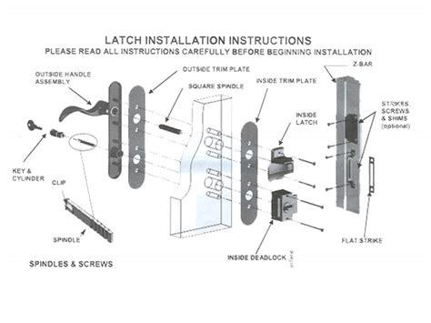 parts of a door handle diagram door handle set keyed deadbolt below handle