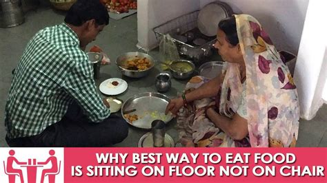 Sits In Chair To Eat by Why Best Way To Eat Food Is Sitting On Floor Not On Chair