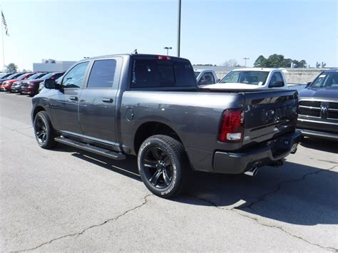 "2018 New Ram 1500 Night 4x4 Crew Cab 5'7"" Box at Landers"