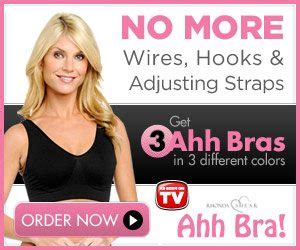 Ahh Bra The Most Comfortable Bra 3 In 1 Berkualitas ahh bras rhonda shear the most comfortable bra