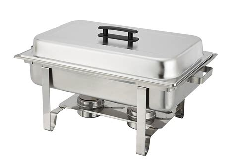 Winware 8 Qt Stainless Chafer Full Size Chafer Food Buffet Stainless Steel Buffet Server