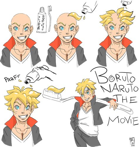 boruto comic how to make boruto hair by jira89 on deviantart