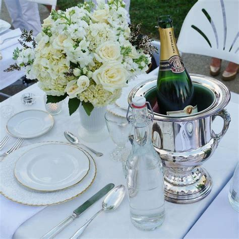 beautiful elegant table settings pictures beautiful all white floral arrangement and very elegant