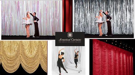 curtain dance dance studios acoustical curtains