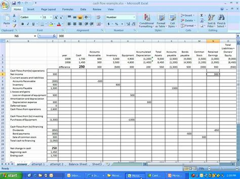 indirect flow statement template excel statement of flows part 1 w free downloadable