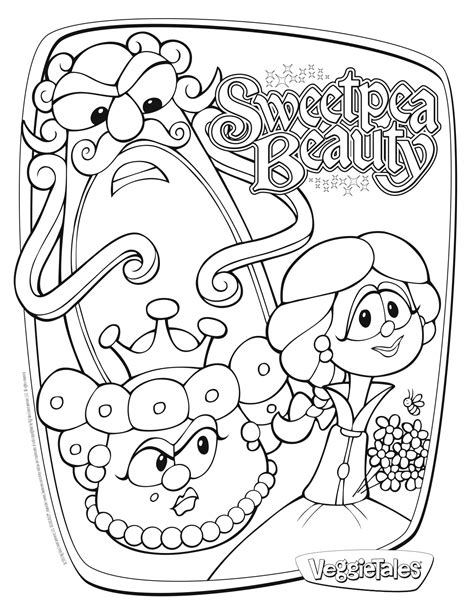 veggie tales coloring pages sweetpea veggie tales for giveaway