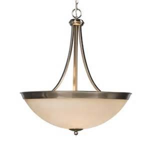 Pendant Bowl Lighting Fixtures Galaxy Lighting 800901 3 Light Peyton Bowl Large Pendant Atg Stores