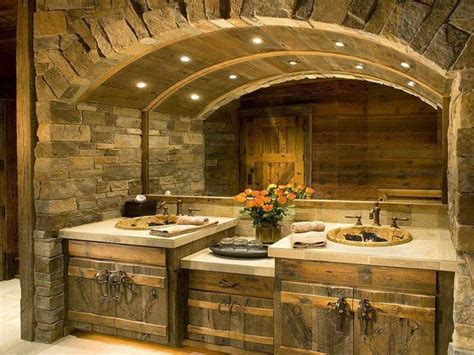 great rustic bathroom design ideas 20021