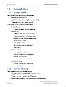 feasibility study ms word template instant download
