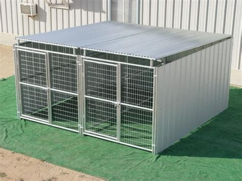 5x10 kennel 2 run 5 x 10 shed row kennels order today free shipping