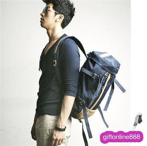 Tas Canvas Fashion Koreb korean fashion canvas unisex backpack bag 2618 ebay
