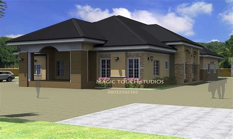 luxury bungalow design 4 bedroom bungalow house luxury master bedroom 4