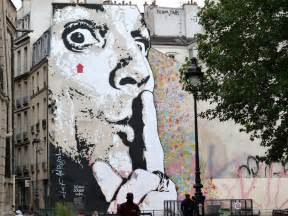 Giant street art by jef aerosol in paris street art pictures live