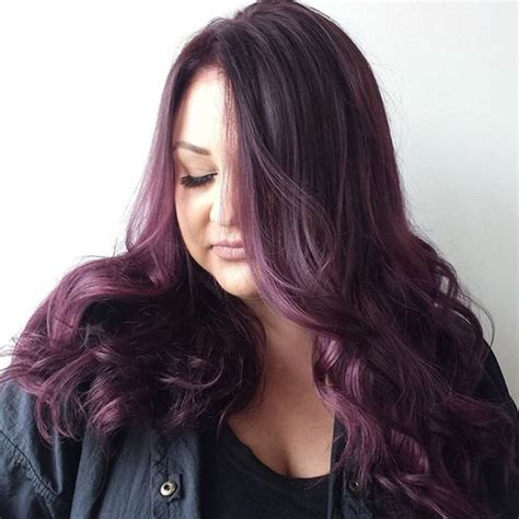 long hairstyles purple highlights 4 most exciting shades of brown hair