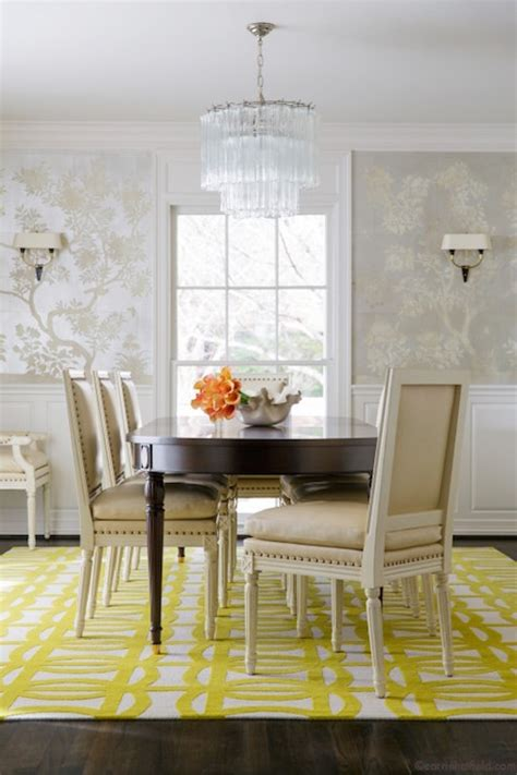 dining room wallpaper hand painted silver chinoiserie wallpaper transitional