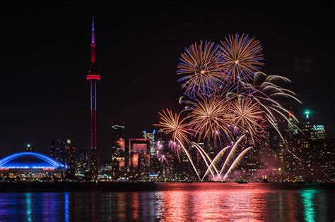 events toronto the top 10 canada day fireworks in toronto for 2016