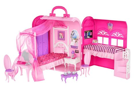 barbie doll house set games barbie bed bath play set toys games dolls accessories dollhouses playsets