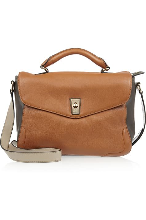 Marc By Marc Captain Shoulder Bag by Marc By Marc Scofty School Leather Shoulder Bag In