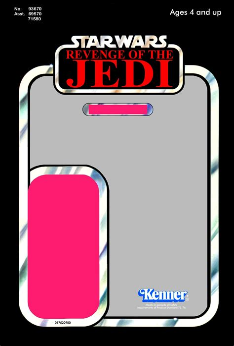 star wars cardback template page
