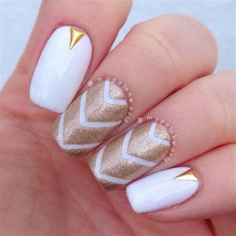 Nägel Mit Gold by 45 Gold Nails You Wish To Try Nenuno Creative