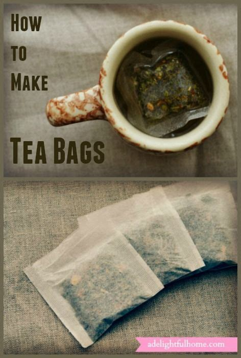 How Tea Bag Is Made by 25 Best Ideas About Diy Tea Bags On Tea Gifts