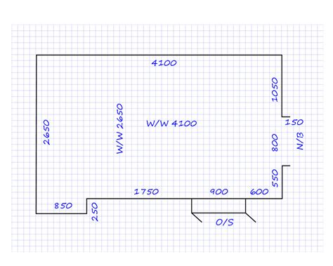 Draw A Room To Scale Online | planning and costing floor covering plans scale drawings