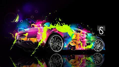 Wallpaper Abstract Car | lamborghini murcielago abstract car 2013 el tony