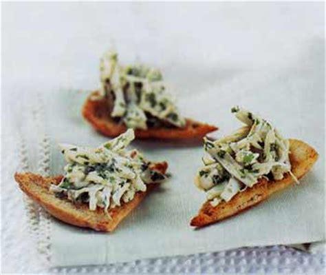 crab canap 233 s with cumin recipe epicurious