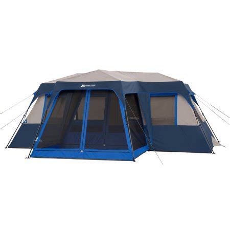 10 room tent walmart ozark trail 12 person 2 room instant cabin tent with