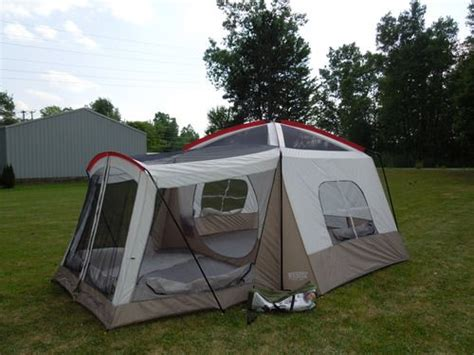 Cabin Style Cing Tents by Wenzel Klondike 16 X 11 Eight Person
