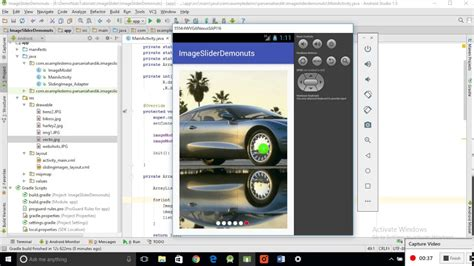 android studio viewpager tutorial image slider slideshow viewpager android studio exle