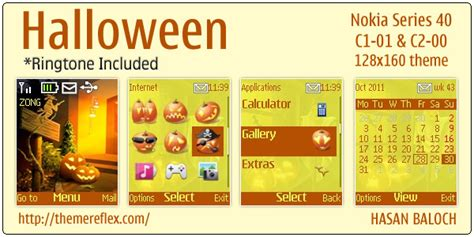 scary themes for nokia c3 nokla c2 01 theme new calendar template site