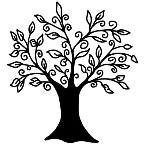 free black and white tree tattoos download free clip art