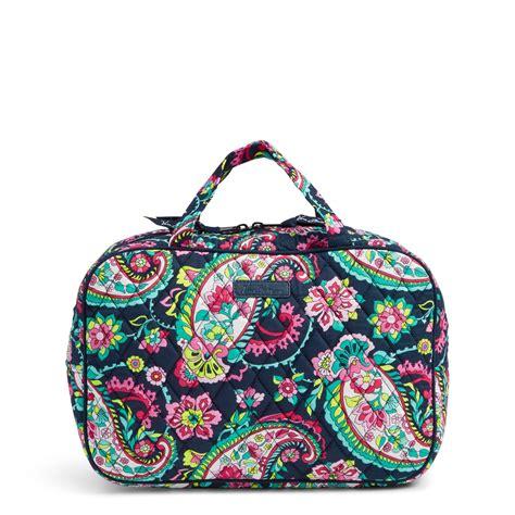 vera bradley grand cosmetic bag ebay