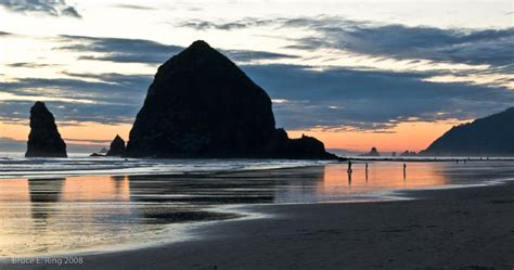 cannon beach oregon haystack rock desktop backgrounds