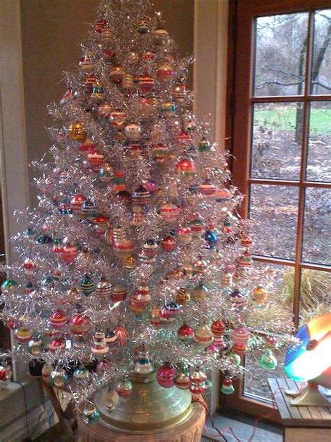 aluminum tree with color wheel 21 silver tree d 233 cor ideas digsdigs