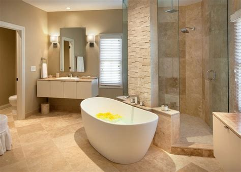 Bathroom Renovation Ideas For Small Spaces stone tiles on the wall in the bathroom one decor