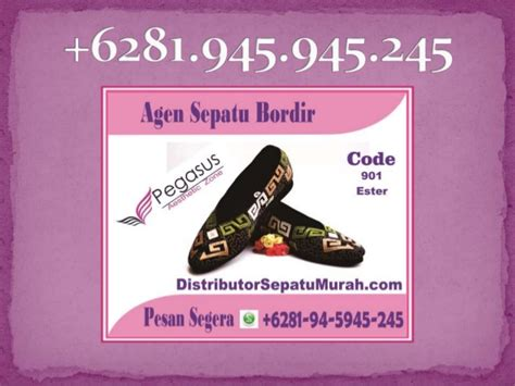 Sepatu Bordir Wanita 3 sepatu bordir bali murah butik sepatu wanita agen sepatu