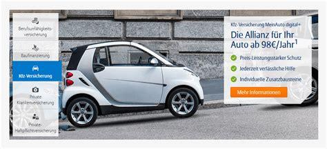 Auto Versicherung Info by Allianz Kfz Versicherung Test Erfahrungen