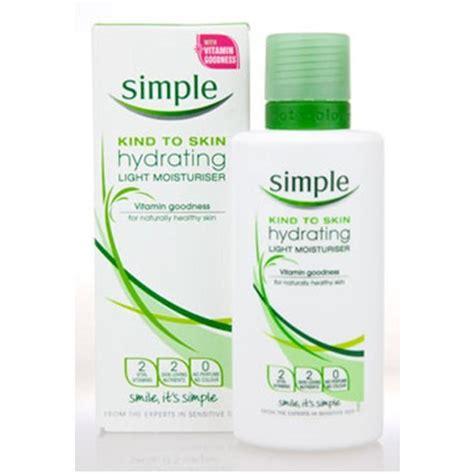 Simple Light Moisturizer by Simple To Skin Hydrating Light Moisturiser Beautylish