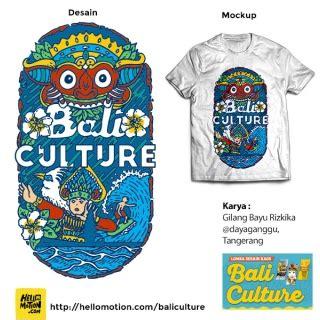 pemenang lomba desain kaos bali culture hellomotioncom